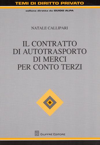 Natale Callipari - GIUFFRE' EDITORE 2009